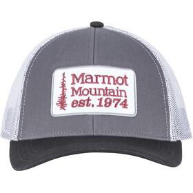 Marmot Retro Trucker Hat Herre dark steel/black